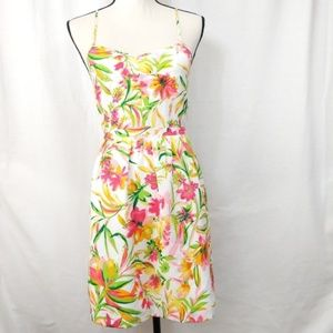 J. Crew Factory Seaside Cami Floral Dress 2
